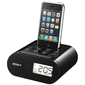 Sony ICFC05iPBLK  Clock Radio for iPod (Black)