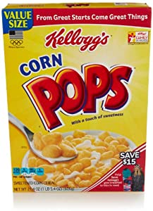 Kellogg's Corn Pops, 21.4 Oz