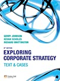 Exploring Corporate Strategy: Text and Cases