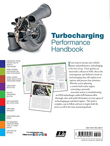 Turbocharging Performance Handbook (Motorbooks Workshop)