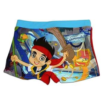 Garçon Disney Jake & The Neverland Pirates Maillot De Bain | Bleu | 6 Ans