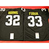 FRANCO HARRIS FRENCHY FUQUA AUTOGRAPHED PITTSBURGH STEELERS JERSEYS IMMACULATE RECEPTION... by