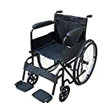 Pandamoto Puncture Proof Self Propel Folding Portable Propelled Wheelchair