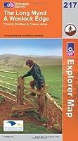 Long Mynd and Wenlock Edge (Explorer Maps) (OS Explorer Map)