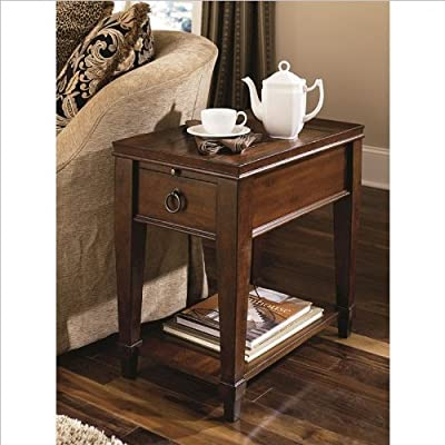 Hammary Sunset Valley Chairside Table Kmndj
