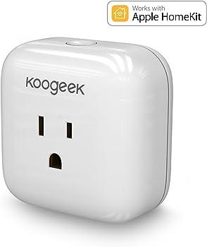 Koogeek Wi-Fi Smart Plug for Apple HomeKit