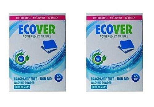 (2 PACK) - Ecover Zero Washing Powder | 750g | 2 PACK - SUPER SAVER - SAVE MONEY