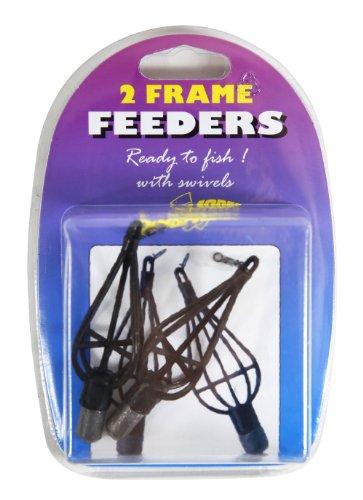 dinsmores-canne-a-peche-feeder-cadre-pack-de-2-noir-15-g