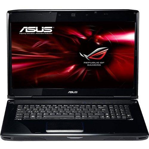 ASUS G71GX-RX05 17.1-Inch Refurbished Laptop - Black/Red