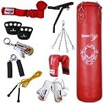TurnerMAX 13 pc Boxing Set Punch Bag,...