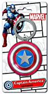 Marvel Captain America Shield Pewter Key Ring