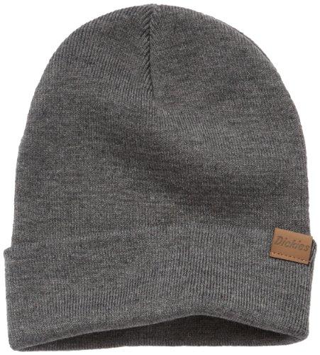 Dickies - Streetwear Cap Alaska, Paraorecchie Uomo, Grigio (Drk Grey Mel), Taglia unica (Taglia Produttore: One Size)
