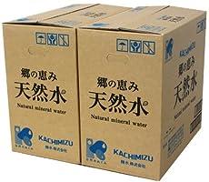 [2CS] 勝水 郷の恵み天然水 (2L×6本)×2箱