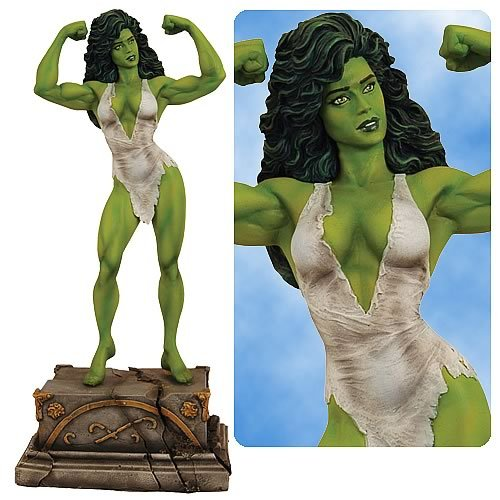 Premiere Collection: Savage She-Hulk Statue - Buy Premiere Collection: Savage She-Hulk Statue - Purchase Premiere Collection: Savage She-Hulk Statue (Marvel Statues, Busts, Prop Replicas, Toys & Games,Categories,Action Figures,Statues Maquettes & Busts)