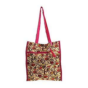Hoot Owl with Hot Pink Trim Shopping / Tote or Diaper Bag