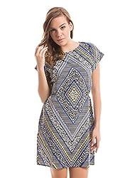 Prym Women's Tulip Dress (1011506301_Navy Mix_X-Large)