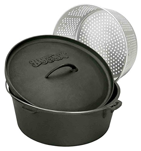 Bayou Classic 7460 Dutch Oven with Basket, 8-1/2-Quart (Fryer Oven compare prices)