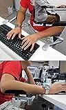Hoso-Ergonomisches-Design-Ellbogenstand-Aluminiummaterial-Computer-Schreibtisch-aufsteckbaren-Unterarmauflage-fr-eine-komfortable-Arbeit-am-Computer-C-Aluminium