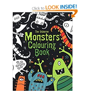 Monsters Colouring Book (Usborne Colouring Books)