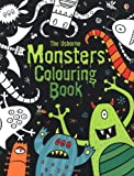 Monsters Colouring Book (Usborne Colouring Books) Kirsteen Rogers