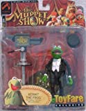 ToyFare Exclusive Master of Ceremonies Kermit the Frog Action Figure (2002 Palisades Toys)
