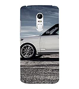 EPICCASE flashy range rover Mobile Back Case Cover For Lenovo Vibe X3 (Designer Case)