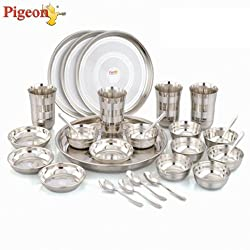 Pigeon Lunch Set, 28-Pieces
