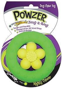 Powzer Zing A Ring: Dog Chew Toy