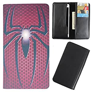 DooDa - For Lava iris 405 PU Leather Designer Fashionable Fancy Case Cover Pouch With Smooth Inner Velvet