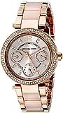 Michael Kors Parker MK6110 Women's Wrist Watches, Gold Dial