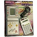 PACK de Tetris + Reloj + Calculadora para niños - Mod.EV-3000 Color Plata