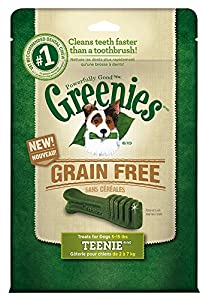 Greenies Teenie Grain Free Food, 12-Ounce