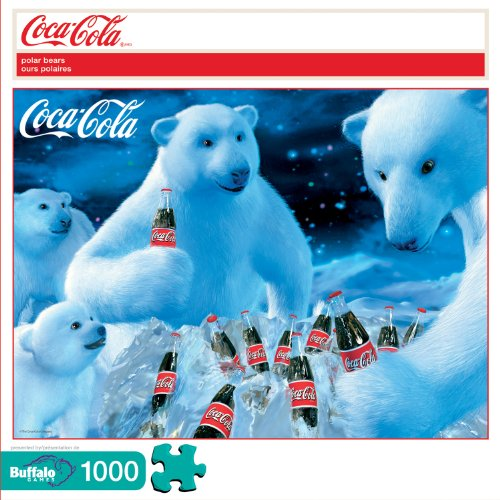 51ZwKYC3lIL Cheap  Coca Cola: Polar Bears 1000pc Jigsaw Puzzle
