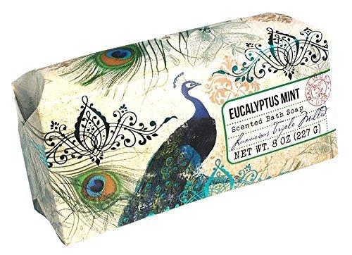 san-francisco-triple-milled-bath-bar-soap-pillow-gift-box-8-oz-each-eucalyptus-mint-1-pack-by-san-fr