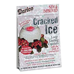 Bulk Buy: Darice DIY Crafts Cracked Ice Decorative Crystals Makes 2-1/2 gallons (6-Pack) 1189-69