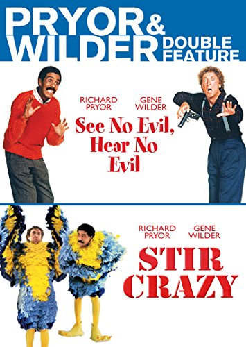 Pryor & Wilder Double Feature (See No Evil, Hear No Evil, Stir Crazy)