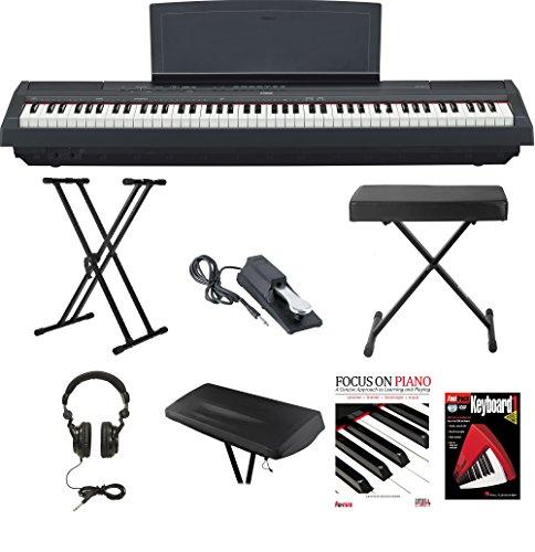 yamaha-p-115b-88-key-graded-hammer-standard-ghs-digital-piano-black-bundle-with-knox-double-x-stand-