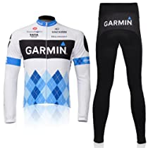 2012 Style Cycling Jersey Set Long Sleeve Jersey Tenacious Life/perspiration Breathable (M)