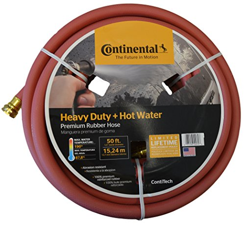 Continental ContiTech Red Hot Water Heavy Duty Garden Hose, 5/8