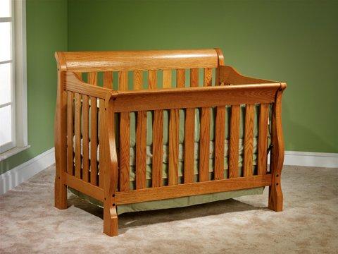Sleigh Crib - JR-CSC