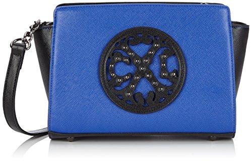christian-lacroix-royal-5-bolso-cruzados-para-mujer-azul-bleu-bleu-royal-noir-5b02-talla-unica