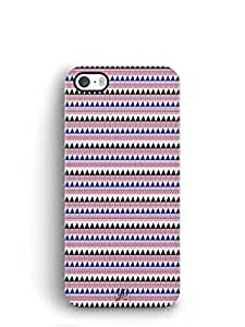YuBingo Triangle and Stripes Mobile Case Back Cover for Apple iPhone SE