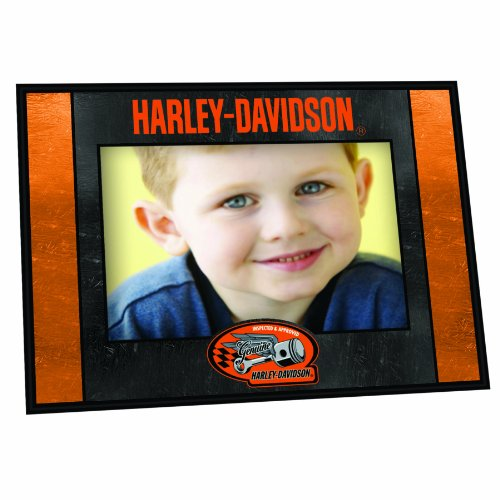 Harley Davidson Genuine Horizontal Art Glass Frame