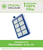 Electrolux 27-EL-131 Washable Hepa Vacuum Filter, Compare to Part # 9002564053, Designed & Engineered Crucial Vacuum