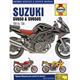 Suzuki: SV650 & SV650S 99-08 (Haynes Service & Repair Manual)