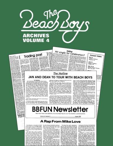 Beach Boys Archives Volume 4