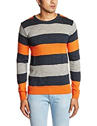 People Men's Synthetic Sweater (8903880690403_P10101188006383_X-Large_Multicolored)