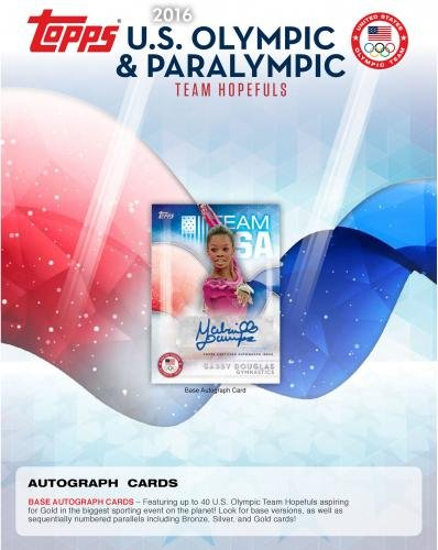 2016-Topps-Olympic-Team-Hopefuls-8-Pack-Box-Fanatics-Authentic-Certified-Unsigned-Olympic-Cards