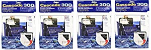 Cascade® Filter Replacement Cartridges for Cascade® Hang-On Power Filters, 3-pack (12-Pack, Cascade 300)