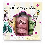Philosophy Cake Me To Paradise Set: Pina Colada Cupcake 180ml + Strawberry Cupcake 180ml + Mint Mojito Cupcake 180ml 3pcs